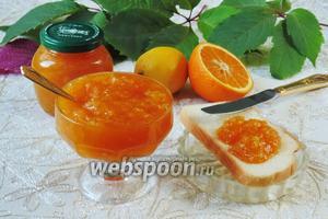 Конфитюр из апельсинов