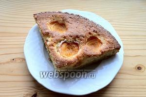 Получаем вкуснейший пирог с обалденной сахарной корочкой.