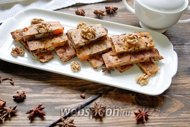 Фото Пирог с сухофруктами без сахара