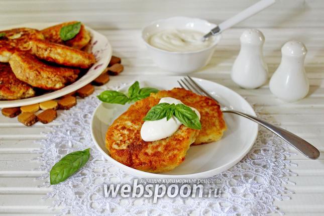 Фото Картофельные зразы со шпротами