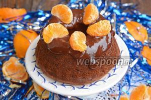 Тыквенный кекс с мандаринами