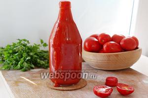 Кетчуп с крахмалом