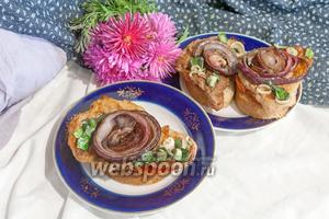 Эскалоп из свинины на сковороде