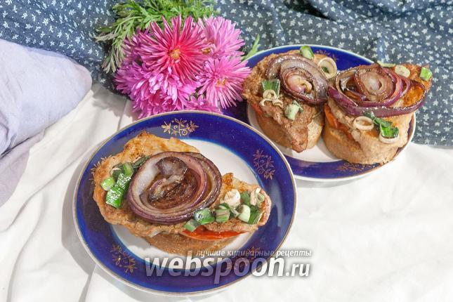 Фото Эскалоп из свинины на сковороде