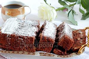 Брауни с грецкими орехами и шоколадными каплями