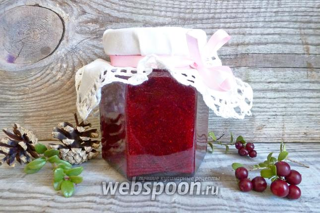 Рецепт Брусника с сахаром на зиму
