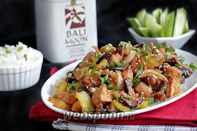Какие можно приготовить блюда из куриного филе и грибов на Новый год