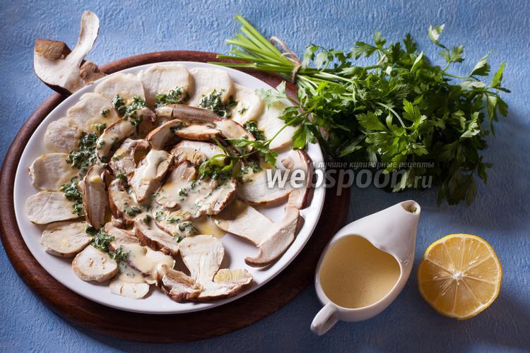 Фото Грибной салат из долины Аоста