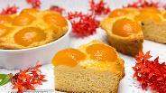 Фото рецепта Творожный пирог с абрикосами