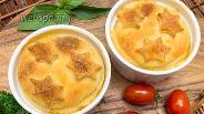 Фото рецепта Куриное филе в соусе, запечённое в горшочках