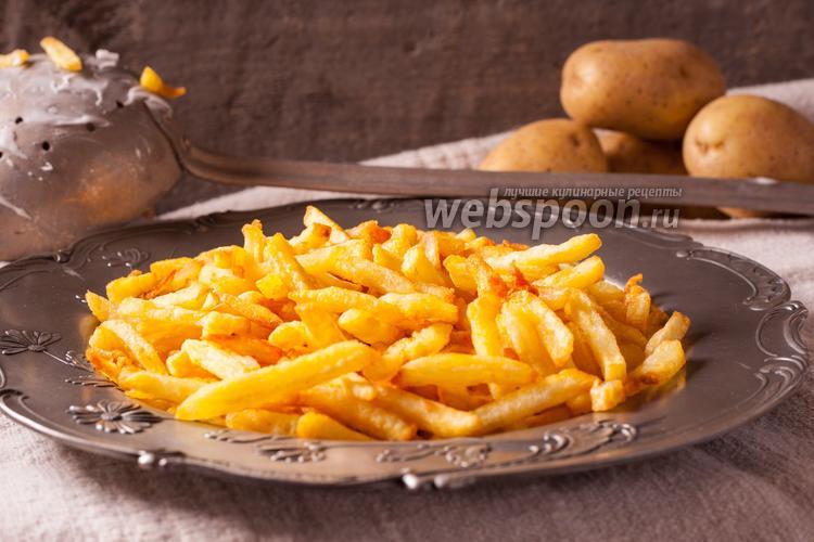 Фото Бельгийская картошка фри