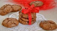 Фото рецепта Нежное шоколадное печенье