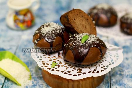 Шоколадные пряники на пару