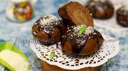Фото рецепта Шоколадные пряники на пару