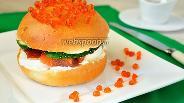 Фото рецепта Гамбургер с красной рыбой