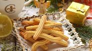 Фото рецепта Печенье «Лимонные палочки»