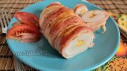 Фото рецепта Куриное филе в беконе