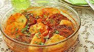 Фото рецепта Котлеты с картофелем в духовке с томатным соусом