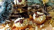 Фото рецепта Арахисовые капкейки «Овечки»