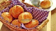 Фото рецепта Хлебные булочки с сыром