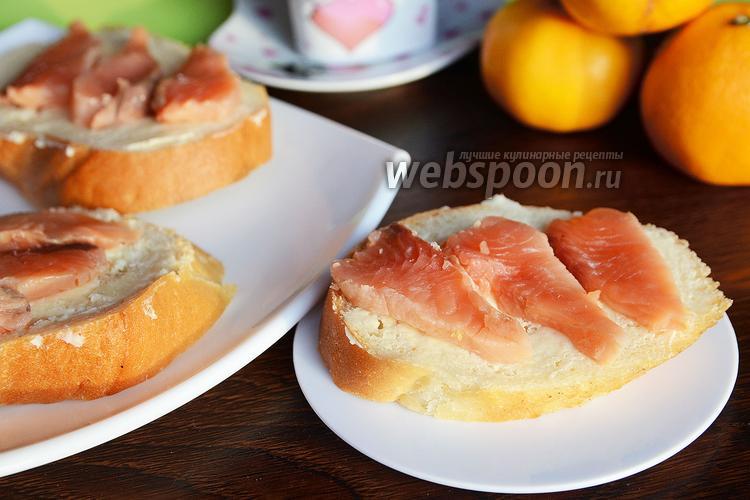 Фото Горбуша засоленная с апельсинами