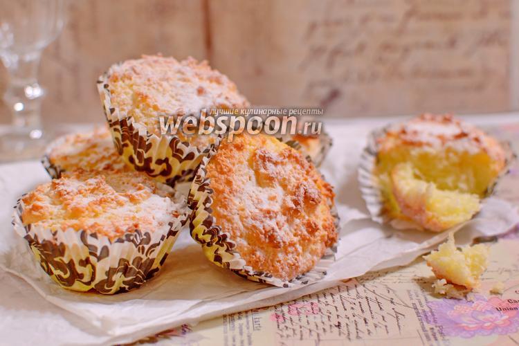 Фото Кокосово-сырные пирожные