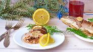 Фото рецепта Запечённая форель с горчицей и лимоном