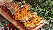 Фото рецепта Тыквенный кекс с клюквой и орехами