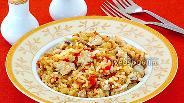Фото рецепта Рыба с рисом по-португальски