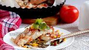 Фото рецепта Белая рыба с чесноком