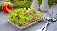 Фото рецепта Овощной салат с сельдереем и ягодами годжи