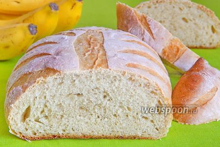 Банановый белый хлеб