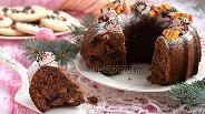 Фото рецепта Влажный рождественский фруктовый кекс