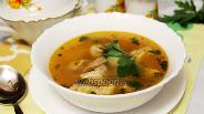 Фото рецепта Фасолевый мясной суп