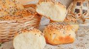 Фото рецепта Булочки на простокваше с семенами
