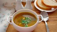 Фото рецепта Суп с пастой орзо и грибами