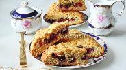 Фото рецепта Тёртый пирог с вишней