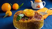 Фото рецепта Кекс с карамельными апельсинами в мультиварке
