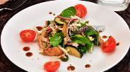 Фото рецепта Тёплый салат с курицей
