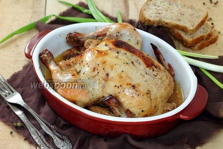 Запечённая курица Бомбей