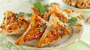 Фото рецепта Пирожки с фаршем и орехами