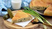 Фото рецепта Постный пирог «Рассольник»