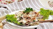 Фото рецепта Салат с тунцом и кукурузой