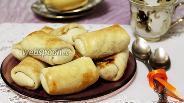 Фото рецепта Пирожки-пелёнки с капустой