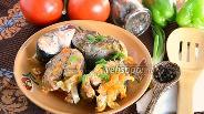 Фото рецепта Горбуша тушёная с морковью и луком