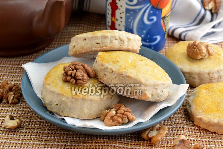 Фото Сконы с корицей и грецким орехом