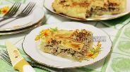 Фото рецепта Румынский пирог с мясом