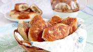 Фото рецепта Пирожки на кефире жареные