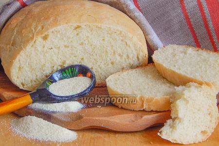 Пшеничный хлеб с манкой