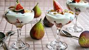 Фото рецепта Десерт «инжир с йогуртом»
